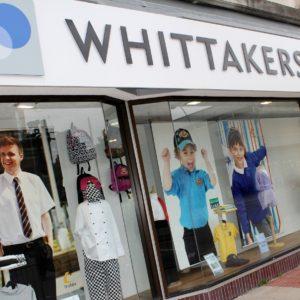 Whittakers Schoolwear Shop