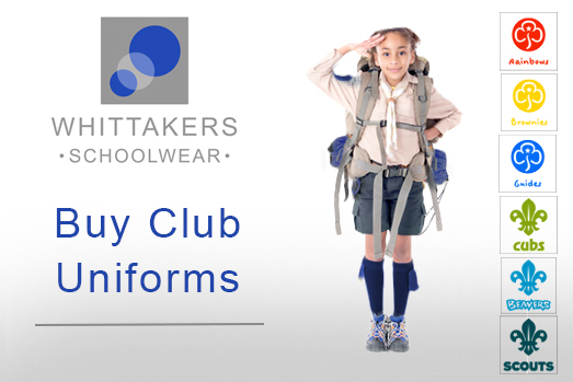 Buy Club Uniforms for Scouts, Brownies, Girl Guides, Rainbows, Beavers and Cubs