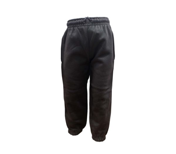 Buttons Black Joggers