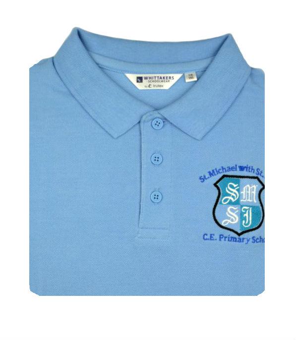 d6f8b3b0d St Michael & John Poloshirt - Whittakers School Wear