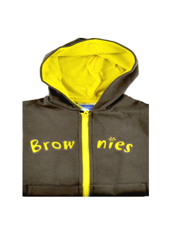 Brownies hooded Zip jacket ALL SIZES OFFICIAL SUPPLIER.