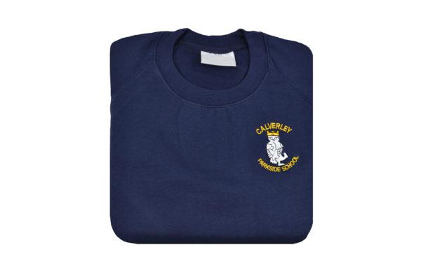 Calverley Parkside Navy Sweat 1
