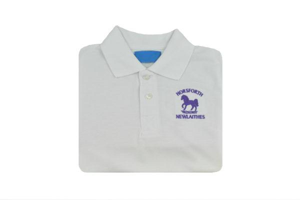 Horseforth Newaithes White Polo