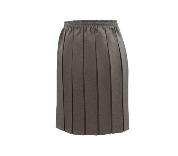 BOX PLEAT GREY