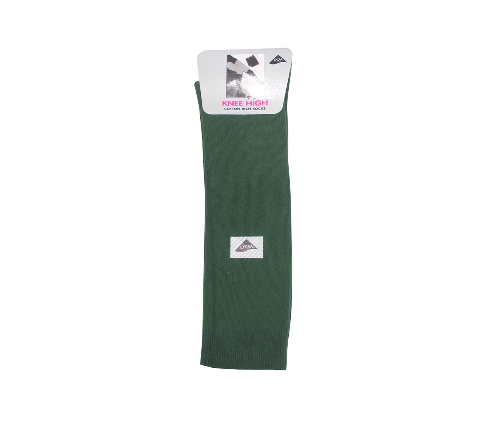 52a27f99b Bottle Green Knee High Socks - Whittakers School Wear