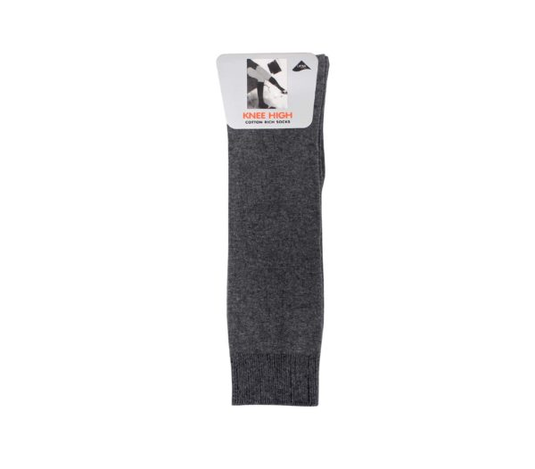knee sock grey