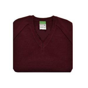 maroon jumper